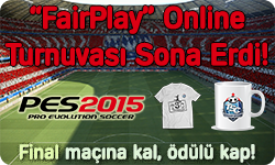 "TSC - IV. PES2015 ""FairPlay"" Online Turnuvası"