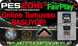 "TSC - I. PES2016 ""FairPlay"" Online Turnuvası"